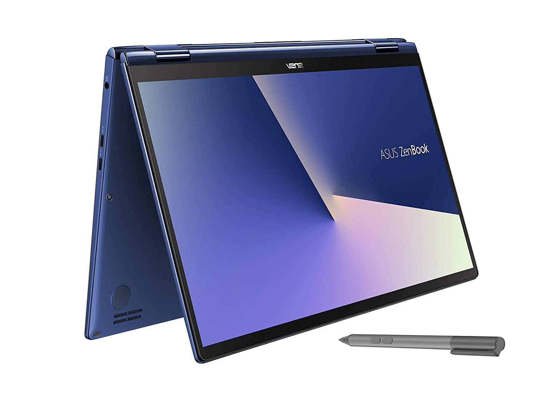 ASUS ZenBook Flip 13 UX362FA Intel Core i7 8th Gen 13.3-inch FHD Touchscreen 2-in-1 Thin & Light Laptop