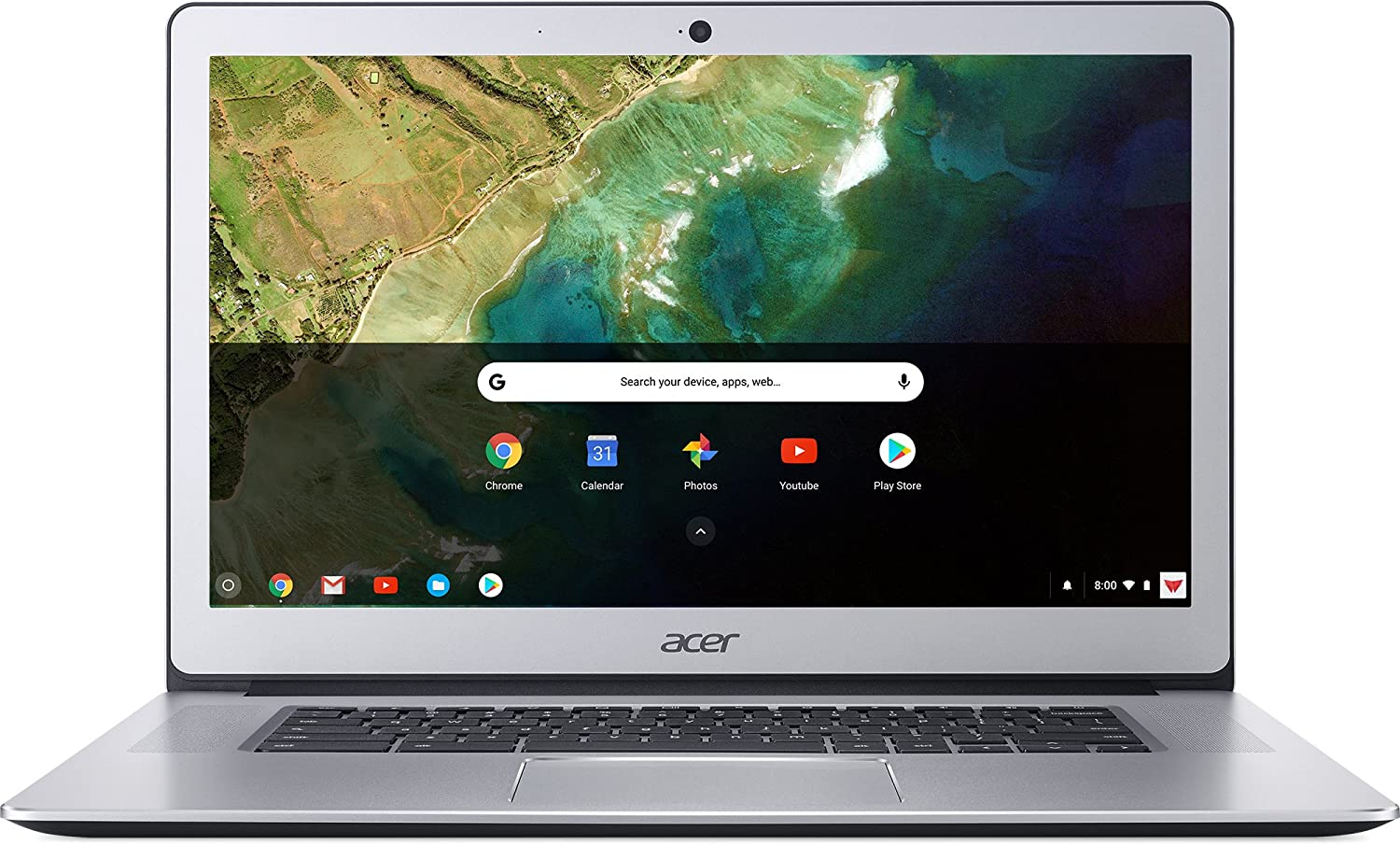 Acer 15.6 FHD IPS Touch-Screen Chromebook