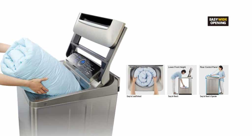 Benifits of panasonic Washing Machine