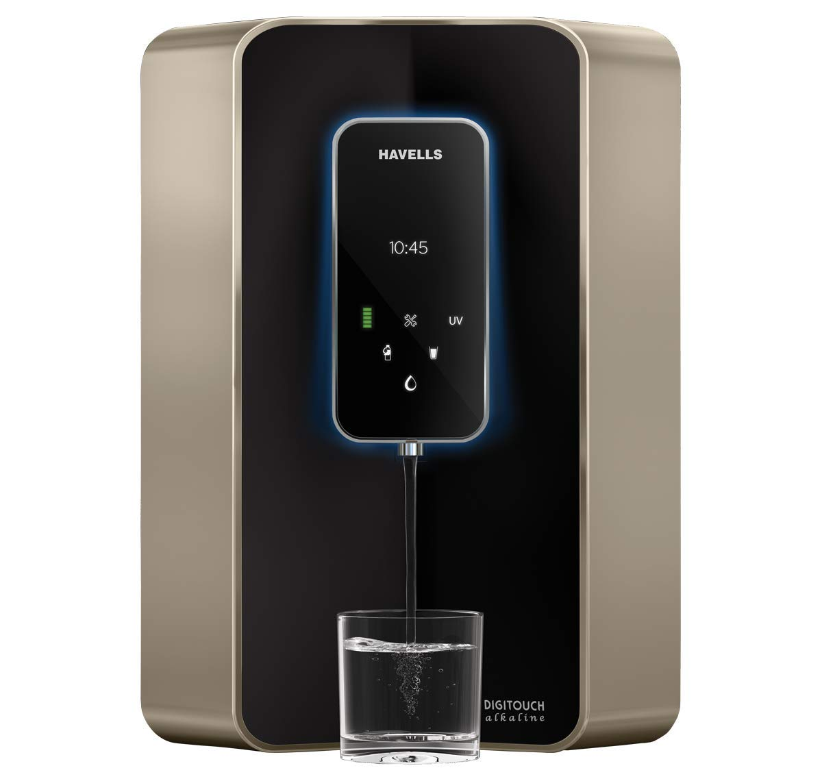 Havells Digitouch Alkaline 100% RO+UV, 6 Litre Water Purifier