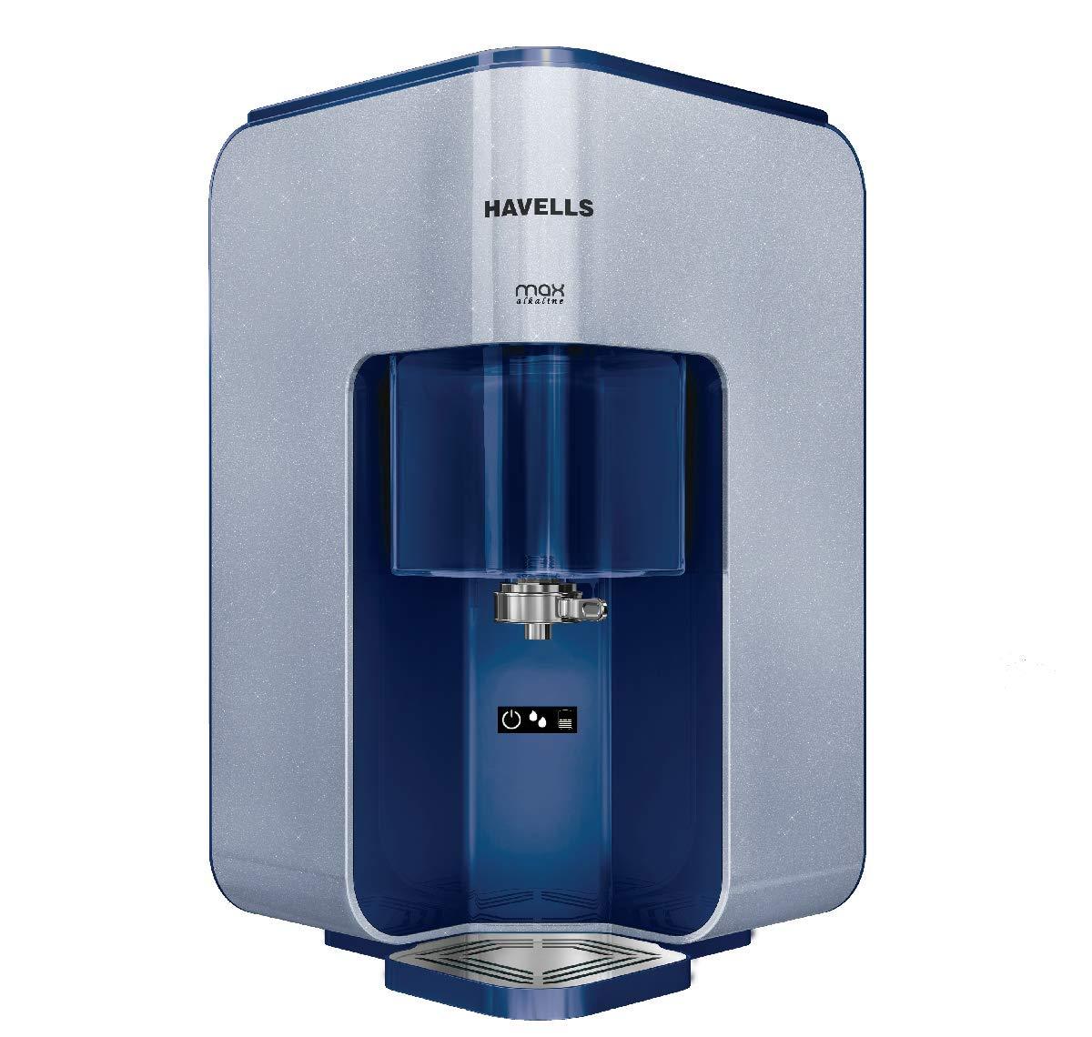 Havells Max Alkaline 7-Liter RO+UV Water Purifier