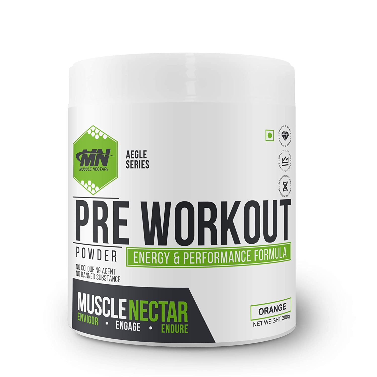 Muscle Nectar (MN) PreWorkout Gym Supplement