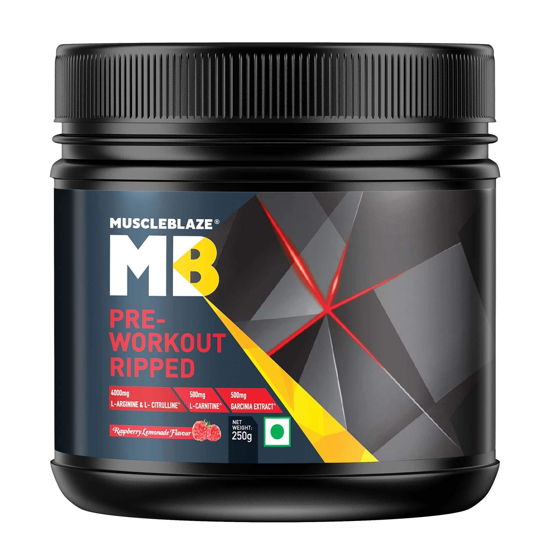 MuscleBlaze Pre Workout Ripped