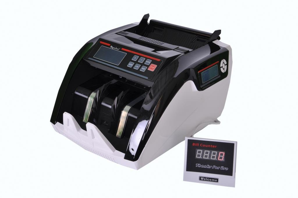Mycica Certified Currency Counting Machine with Fake Note Detector