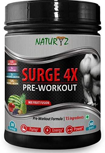 Naturyz Surge 4x Advanced Pre Workout Supplement
