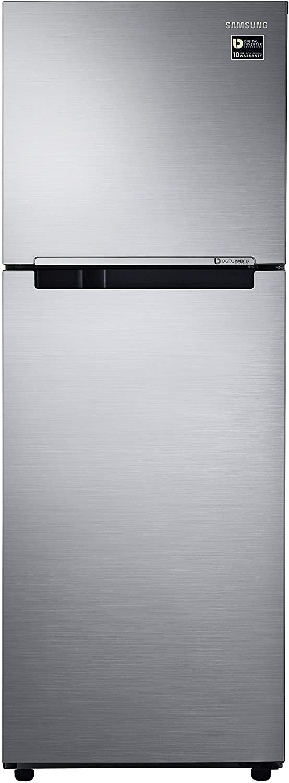 Samsung 253 L 1 Star Frost Free Double Door Refrigerator(RT28M3022S8, Elegant Inox, Inverter