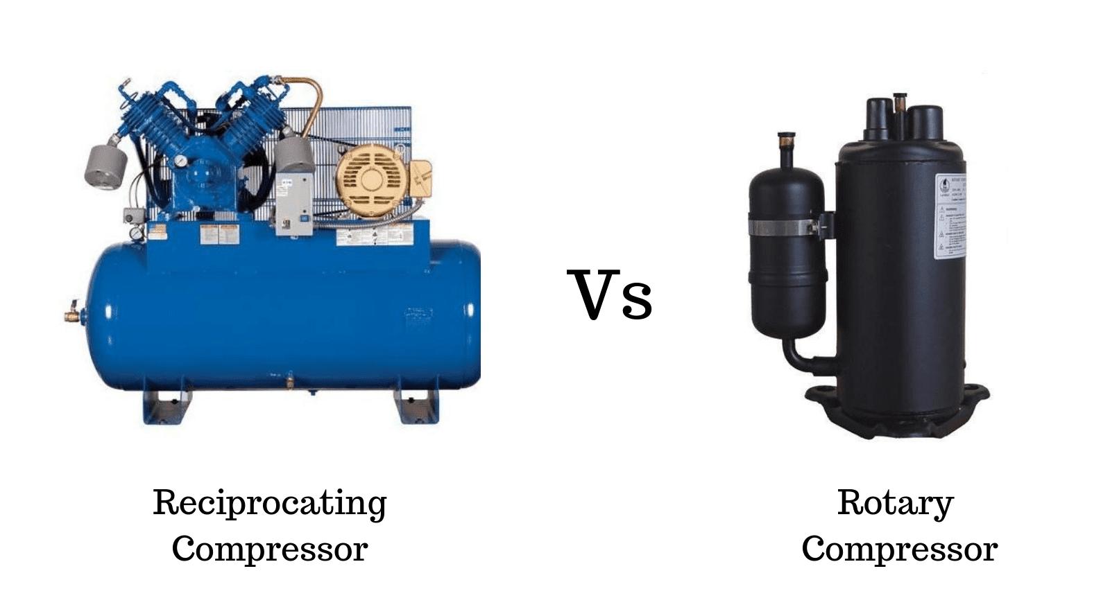 Reciprocating-Compressor -and-Rotary-Compressor