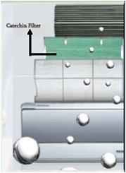 advantage of catechin filter