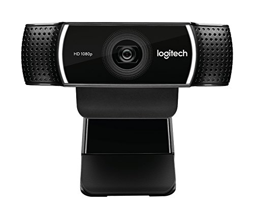 Logitech C922 Pro Stream Webcam HD 1080p 30fps or HD 720p 60fps Hyperfast Streaming