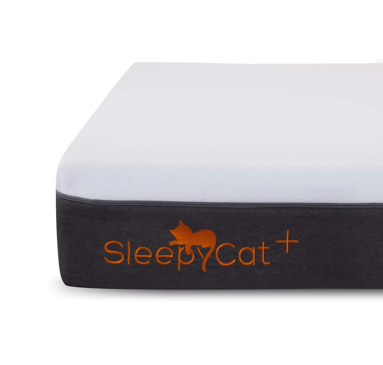 SleepyCat Plus 8 Inch Orthopedic Memory Foam King Size Mattress