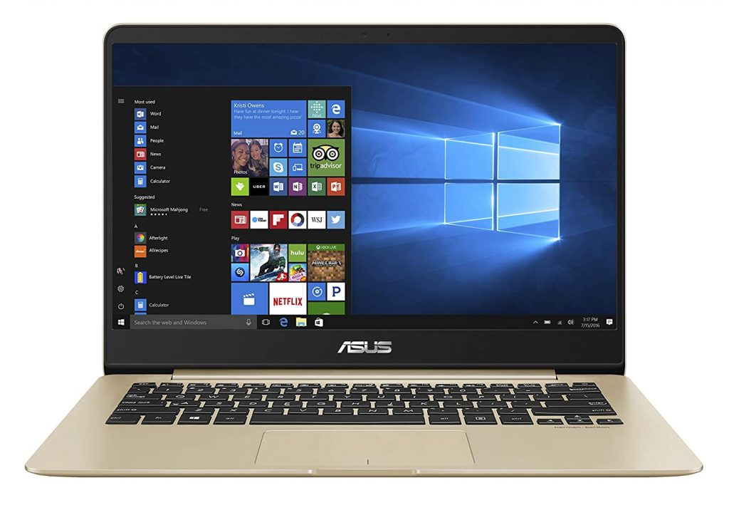 ASUS ZenBook UX430UA-GV573T Intel Core i5 8th Gen 14-inch FHD Thin and Light Laptop