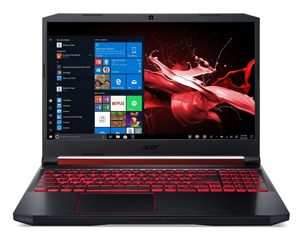 Acer Nitro 5 AN515-54 15.6-inch Gaming Laptop (9th Gen Intel Core i5-9300H processor