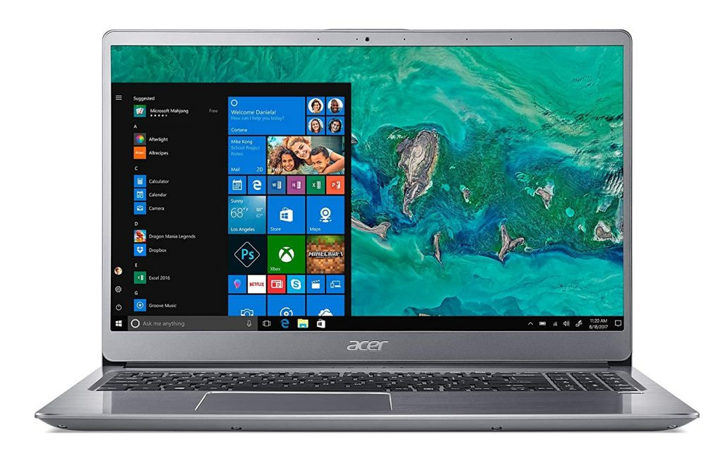 Acer Swift 3 8th Gen Core i5 15.6-inch Full HD Thin and Light Laptop