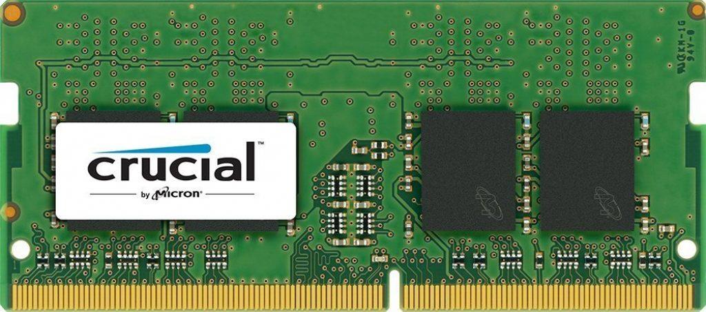 Crucial 8GB DDR4 1.2V 2400Mhz CL17 SODIMM RAM Memory