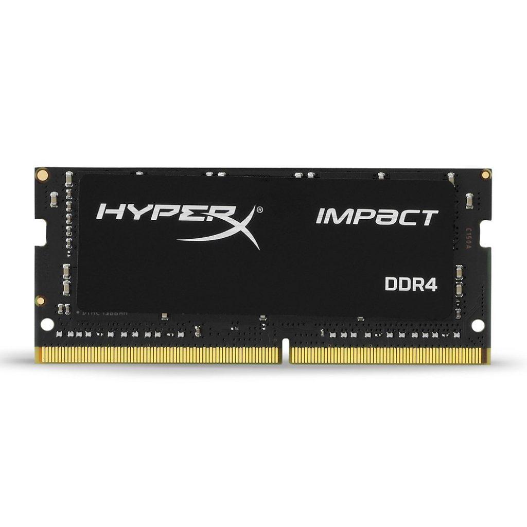 HyperX Impact 8GB 2666MHz DDR4 CL15 260-Pin SODIMM Laptop Memory