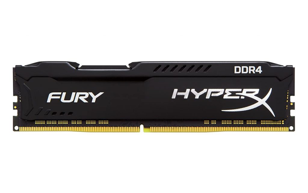 HyperX Kingston Technology Fury Black 16GB 3200MHz DDR4 CL18 DIMM Memory