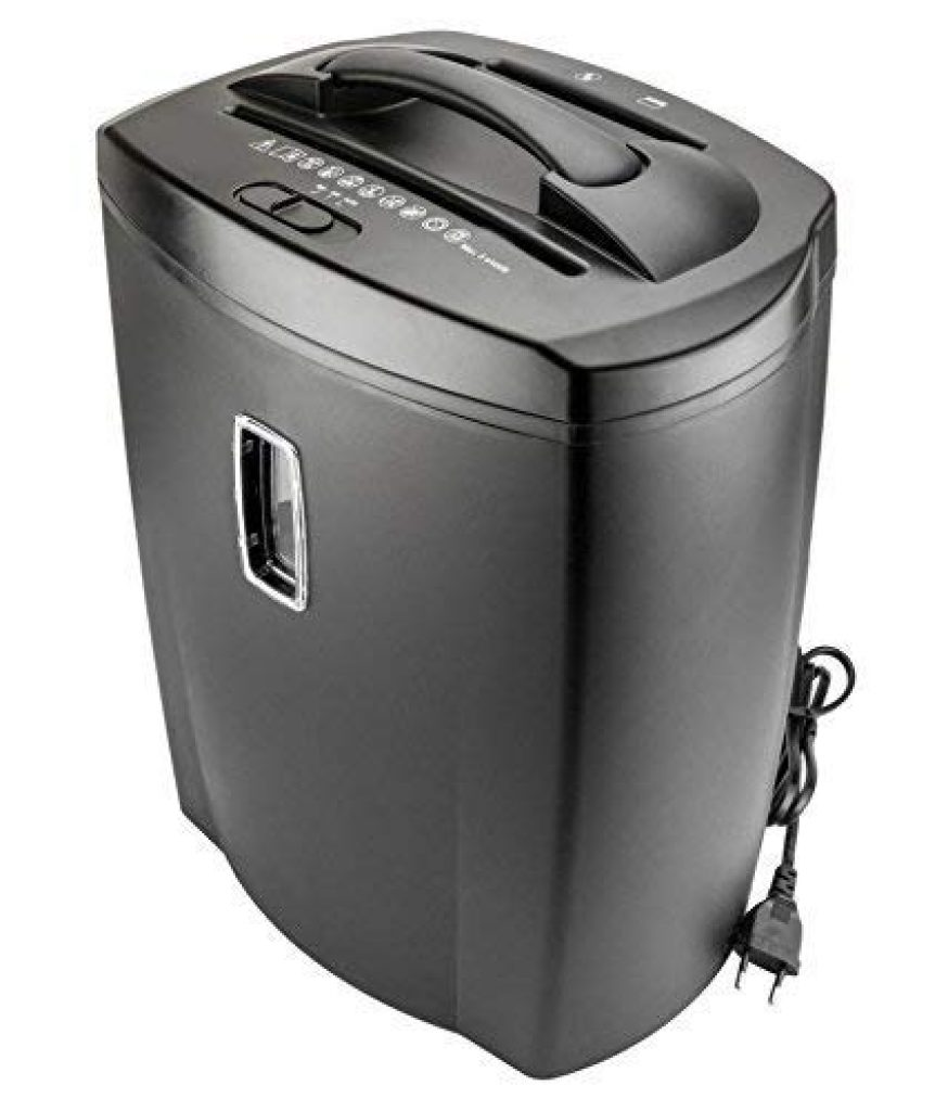 ooze Mdi Shred Plus Cross Cut Paper Shredder / Trimmer With 21 L Waste Bin