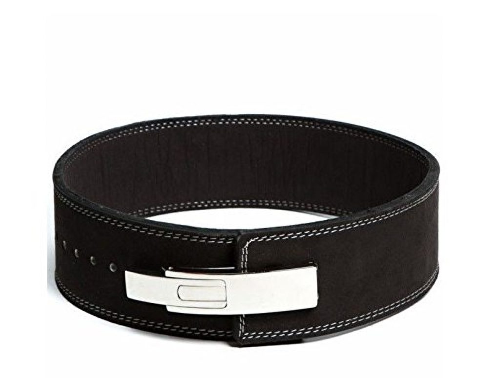 Flexz Fitness Lever Buckle Powerlifting Belt for Weight Lifting