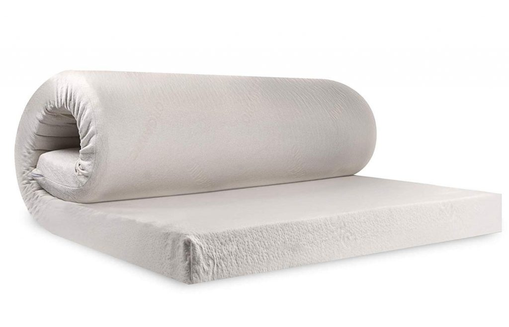 PURESLEEP Natural Latex Foam Mattress - Soft (75X72X3 in)