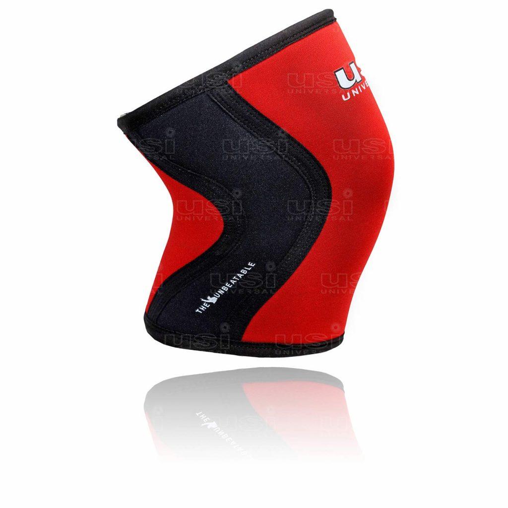 USI Universal KS7-7mm Knee Sleeves Support for Fitness, Cross Training, Knee Injury